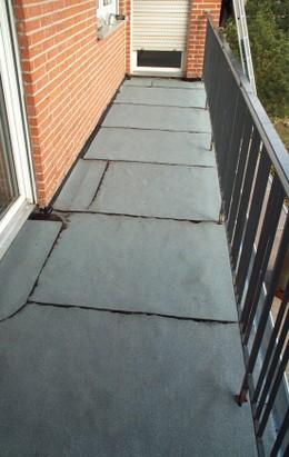 Bitumen balkon